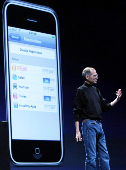 Keynote Speech「Apple Introduces New iPhone At Worldwide Developers Conference」:写真・画像(3)[壁紙.com]