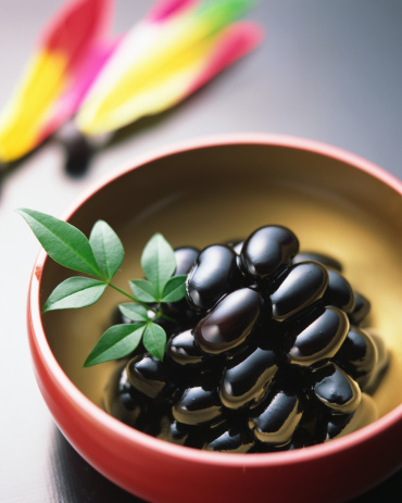おせち「Simmered black beans」:スマホ壁紙(13)
