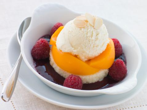 Coulis「Dish of Peach Melba」:スマホ壁紙(5)