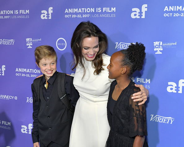 "Angelina Jolie「Premiere Of Gkids' ""The Breadwinner"" - Arrivals」:写真・画像(14)[壁紙.com]"