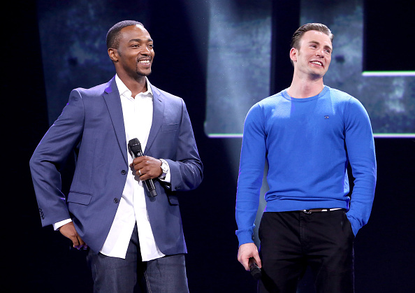 "Captain America「""Worlds, Galaxies, And Universes: Live Action At The Walt Disney Studios"" Presentation At Disney's D23 EXPO 2015」:写真・画像(2)[壁紙.com]"