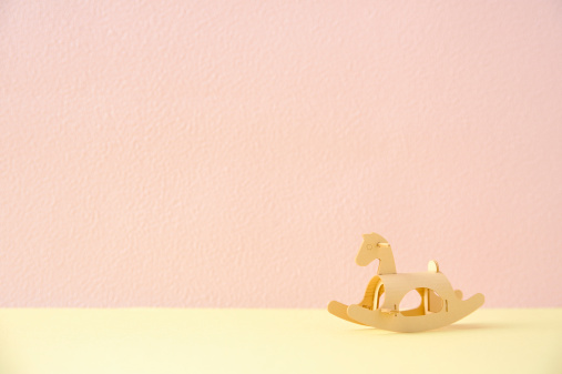 Paper Craft「The model of the wooden horse made of the paper」:スマホ壁紙(6)