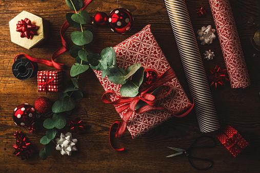 プレゼント「美しいクリスマスギフト」:スマホ壁紙(7)