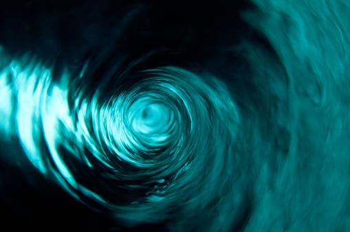 Vortex「A beautiful clear teal water vortex」:スマホ壁紙(5)