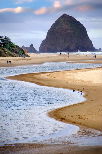 Cannon Beach「Beautiful Cannon Beach Coastline」:スマホ壁紙(4)