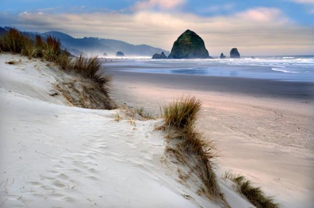 Beautiful Cannon Beach Coastline:スマホ壁紙(壁紙.com)