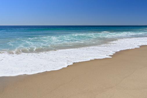 Wave「マリブのビーチ」:スマホ壁紙(3)
