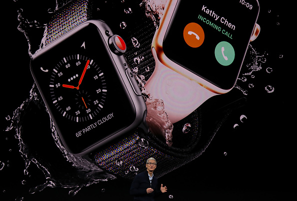 Apple Watch「Apple Holds Product Launch Event At New Campus In Cupertino」:写真・画像(0)[壁紙.com]