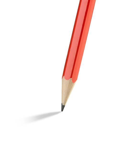 pencil isolated on white:スマホ壁紙(壁紙.com)