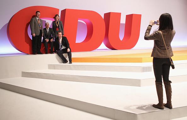 Christian Democratic Union「CDU Holds Federal Convention」:写真・画像(5)[壁紙.com]