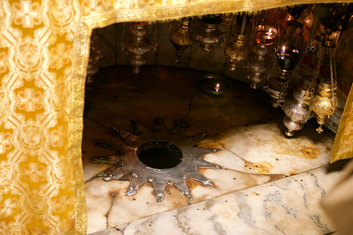 Bethlehem - West Bank「The Grotto of the Nativity in Bethlehem」:スマホ壁紙(8)