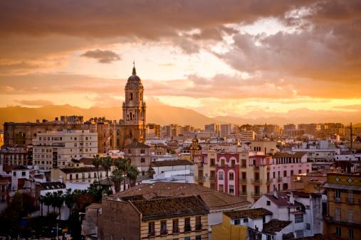 Cathedral「Malaga city」:スマホ壁紙(13)