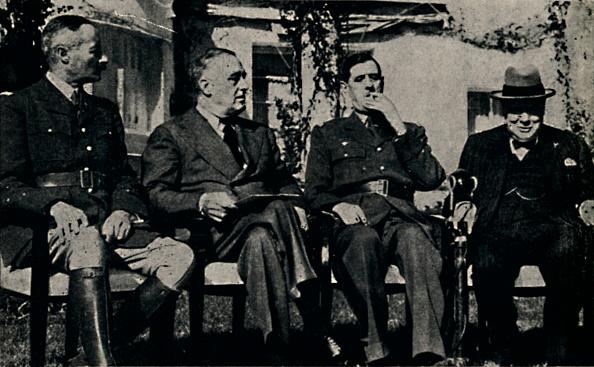 Franklin Roosevelt「Allied Conference At Casablanca」:写真・画像(14)[壁紙.com]