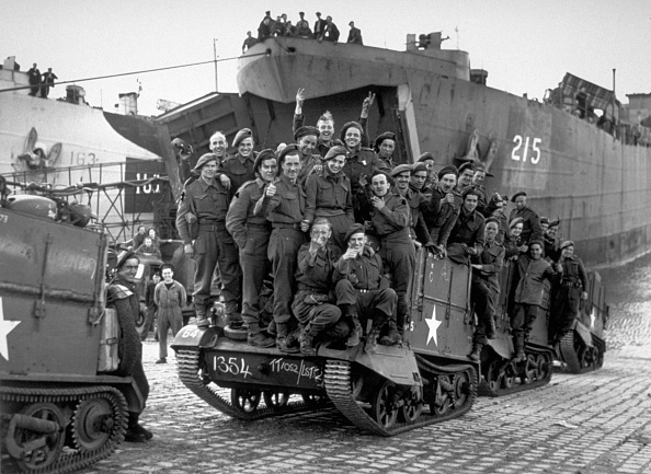 Disembarking「Normandy Troops」:写真・画像(11)[壁紙.com]