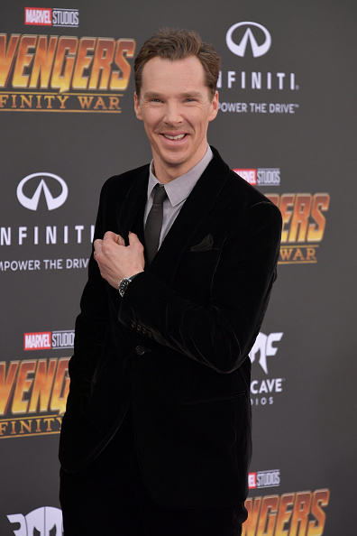 "Benedict Cumberbatch「Premiere Of Disney And Marvel's ""Avengers: Infinity War"" - Arrivals」:写真・画像(15)[壁紙.com]"