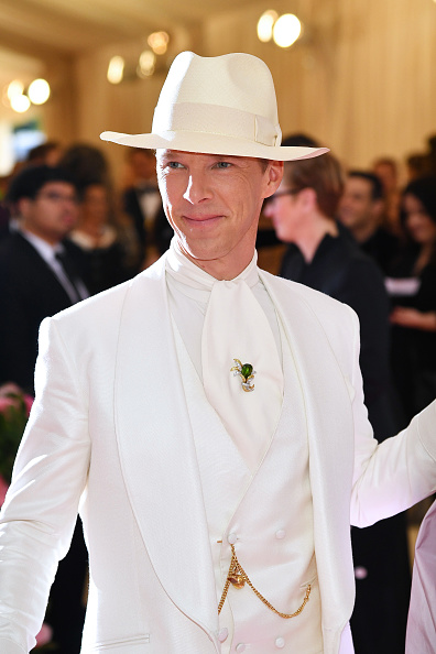 Benedict Cumberbatch「The 2019 Met Gala Celebrating Camp: Notes on Fashion - Arrivals」:写真・画像(2)[壁紙.com]