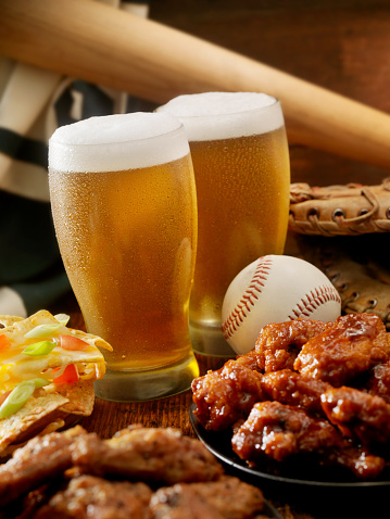 Chicken Wing「Beer, Baseball and Wings」:スマホ壁紙(7)
