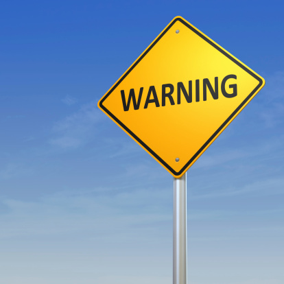 Bollard「Warning Road Sign」:スマホ壁紙(17)