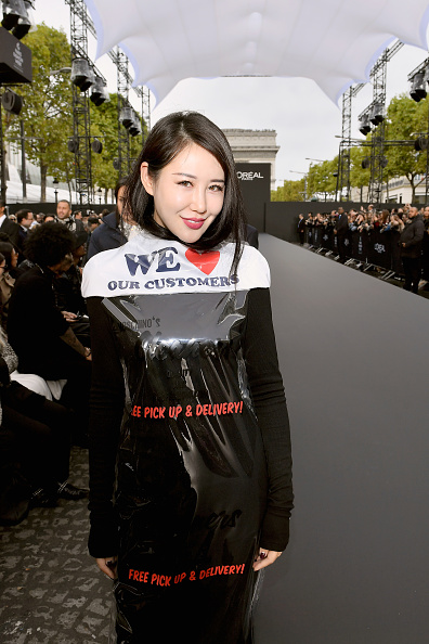 Victor Boyko「Le Defile L'Oreal Paris Front Row - Paris Fashion Week Womenswear Spring/Summer 2018」:写真・画像(7)[壁紙.com]