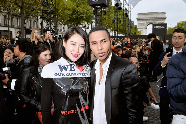 Victor Boyko「Le Defile L'Oreal Paris Front Row - Paris Fashion Week Womenswear Spring/Summer 2018」:写真・画像(12)[壁紙.com]