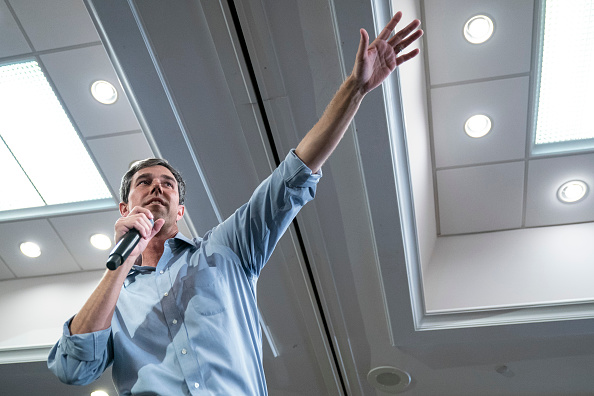 Democratic Party - USA「Democratic Presidential Candidate Beto O'Rourke Holds Town Hall In Alexandria, Virginia」:写真・画像(17)[壁紙.com]