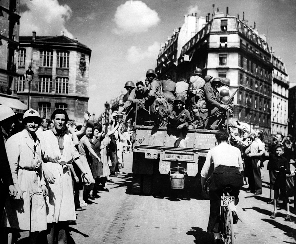 Allied Forces「The liberation of Paris, August 1944.」:写真・画像(5)[壁紙.com]