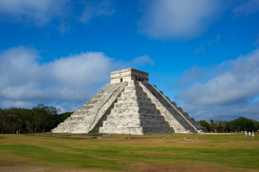 Ancient Civilization「Mexico, Yucatan, Chichen Itza, Pyramid El Castillo」:スマホ壁紙(10)