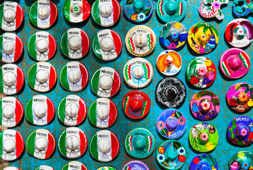 Souvenir「Mexico, Yucatan, Colorful magnets」:スマホ壁紙(10)