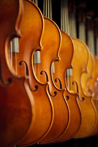 Violin「Rows of Violins」:スマホ壁紙(18)