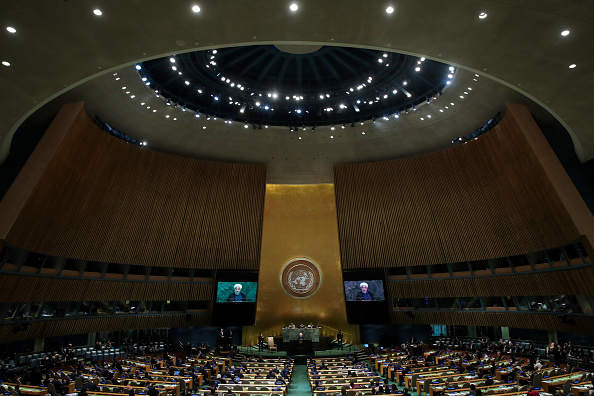 United Nations Building「World Leaders Address Annual United Nations General Assembly」:写真・画像(2)[壁紙.com]
