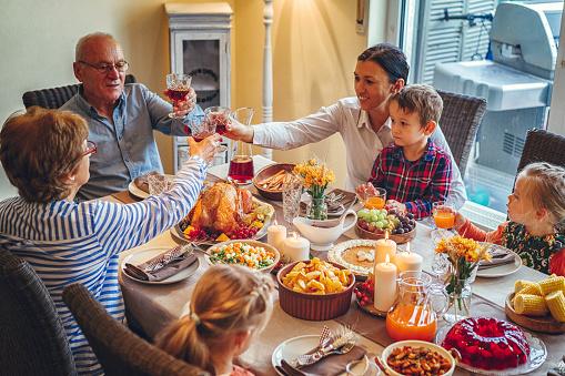 Birds「家族を持つ伝統的な休日詰めトルコ ディナー」:スマホ壁紙(14)