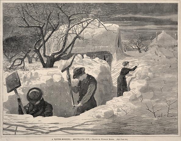 1870-1879「A Winter Morning」:写真・画像(9)[壁紙.com]