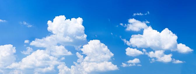 cloud「青い空、白い雲-パノラマ 32MPix XXXXL」:スマホ壁紙(18)