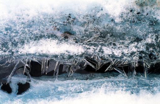 Kennicott Glacier「Ice patterns and melt water on Kennicott Glacier」:スマホ壁紙(6)