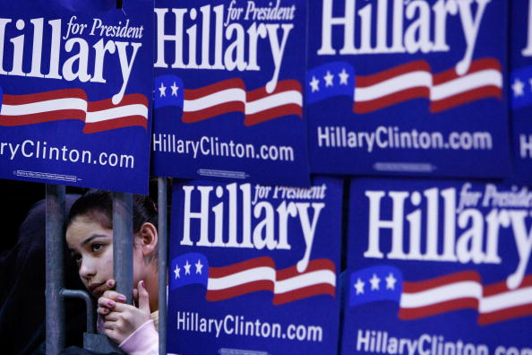 Super Tuesday「Hillary Clinton Campaigns Ahead Of Super Tuesday」:写真・画像(16)[壁紙.com]