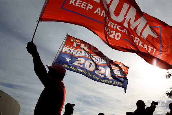 アメリカ共和党「President Trump Holds Campaign Rally In Chattanooga, Tennessee」:写真・画像(5)[壁紙.com]