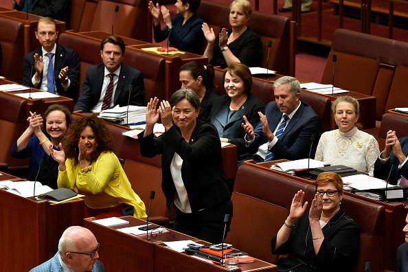 オーストラリア「Marriage Equality Bill Debated In Parliament」:写真・画像(8)[壁紙.com]