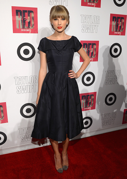 """Silver Shoe「Taylor Swift And Target """"Red"""" Deluxe Edition CD Release Launch Party」:写真・画像(1)[壁紙.com]"""