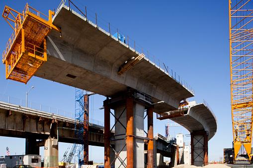 バイパス「Bridge Construction, Perth Amboy, New Jersey」:スマホ壁紙(12)