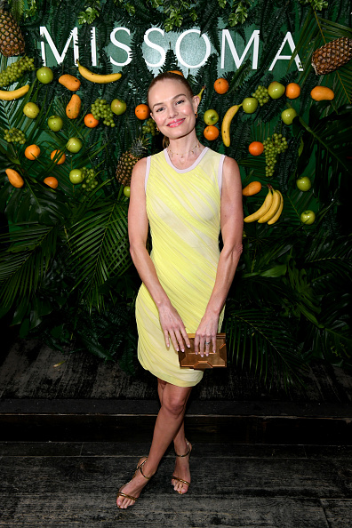 Beige Purse「Missoma Celebrates The Launch Of Momposina In NYC With Kate Bosworth and Chanel Iman」:写真・画像(10)[壁紙.com]