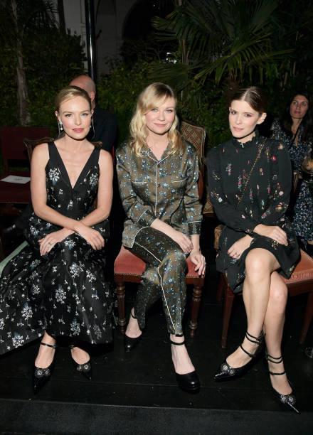 Kirsten Dunst「H&M x ERDEM Runway Show & Party - Front Row」:写真・画像(1)[壁紙.com]