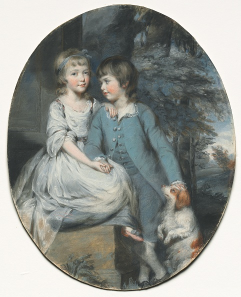 Anne Francis「Cropley Ashley-Cooper (Later 6Th Earl Of Shaftesbury) With His Sister...」:写真・画像(7)[壁紙.com]