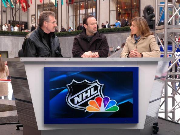 オリンピック「NHL On NBC - Rehearsal」:写真・画像(6)[壁紙.com]