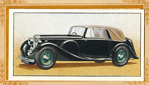 Cigarette Card「Lagonda Drop-Head CoupÔøΩ, 1936」:写真・画像(4)[壁紙.com]