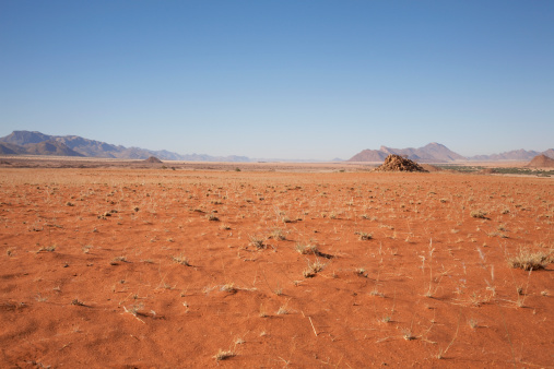 Wilderness「Desert landscape with mountains, Hartmann Valley, Namibia, Africa」:スマホ壁紙(1)