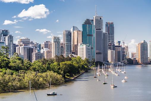 Queensland「Brisbane Skyline」:スマホ壁紙(9)