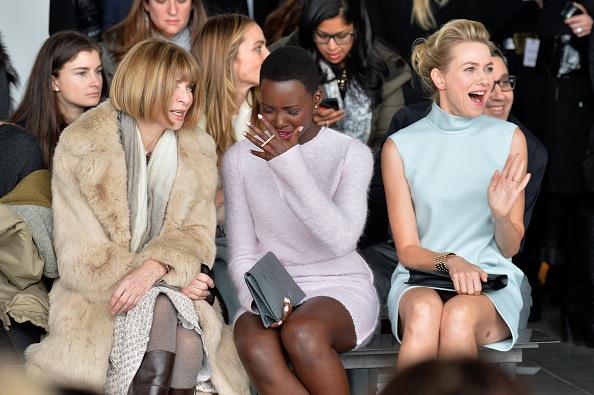 ニューヨークファッションウィーク「Calvin Klein Collection - Front Row - Mercedes-Benz Fashion Week Fall 2014」:写真・画像(11)[壁紙.com]