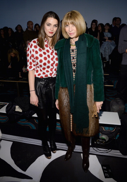 Larry Busacca「Diane Von Furstenberg - Front Row - Mercedes-Benz Fashion Week Fall 2014」:写真・画像(18)[壁紙.com]