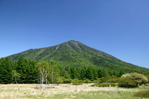 Tochigi Prefecture「Nantai-san and Senjogahara, Tochigi Prefecture, Japan」:スマホ壁紙(7)