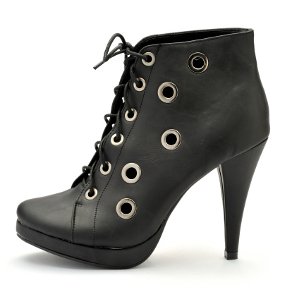 Cool Attitude「Black high Heels Shoe」:スマホ壁紙(17)